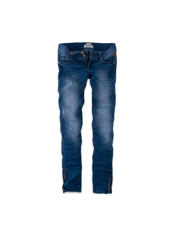 modre jeans damske kalhoty thor steinar 2 3