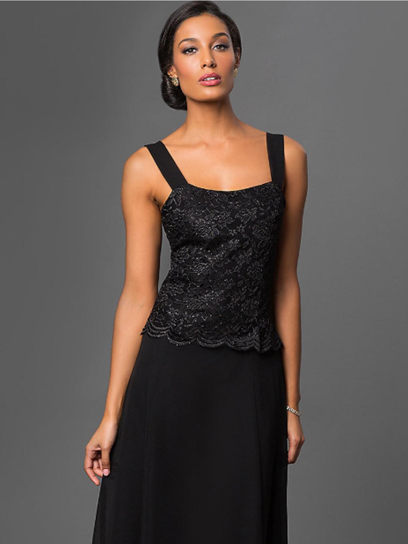 Krátké černé společenské šaty s krajkovým kabátkem · Krátké černé  společenské šaty s krajkovým kabátkem ... 4802f29794