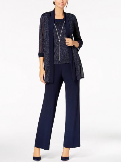 elasticky kabatek top kalhoty spolecensky kostym