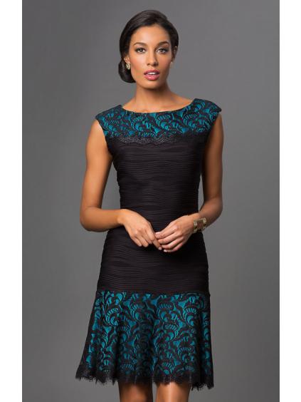 Krajkové společenské šaty