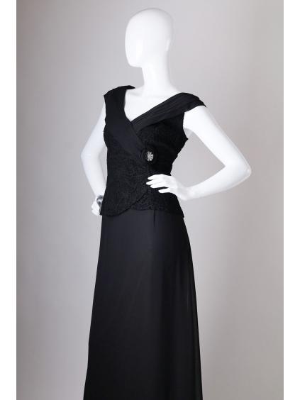 Elegantní černé šaty