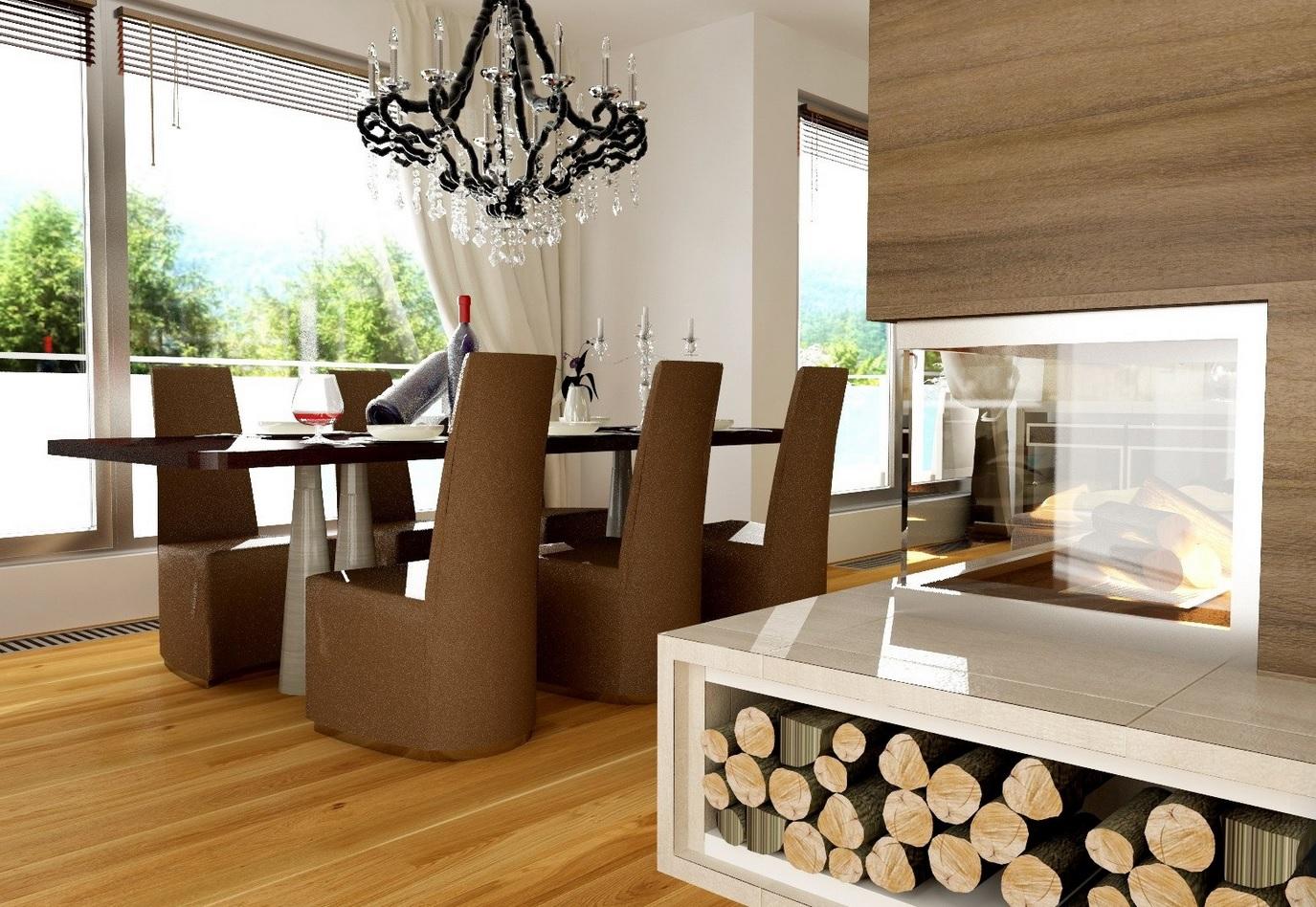 Návrhy interiérov v rôznych štýloch