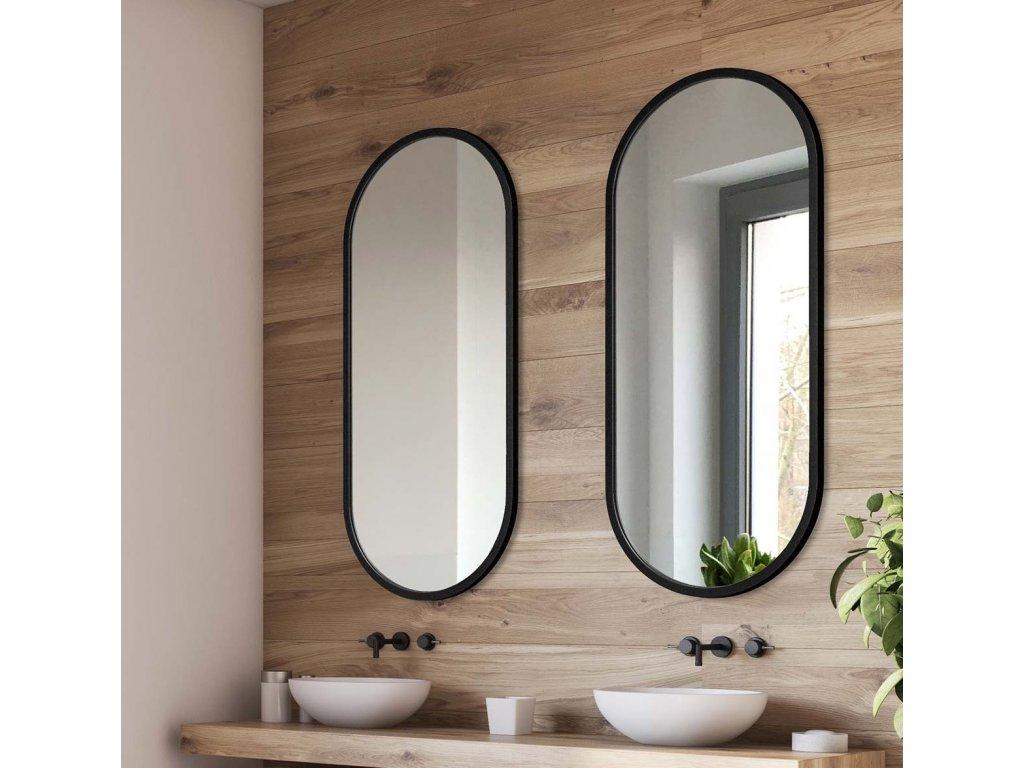 Zrkadlo Ambient black - Glamour Design 5