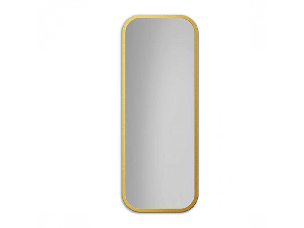 Dizajnové zrkadlo Mirel zlaté - Glamour Design 1