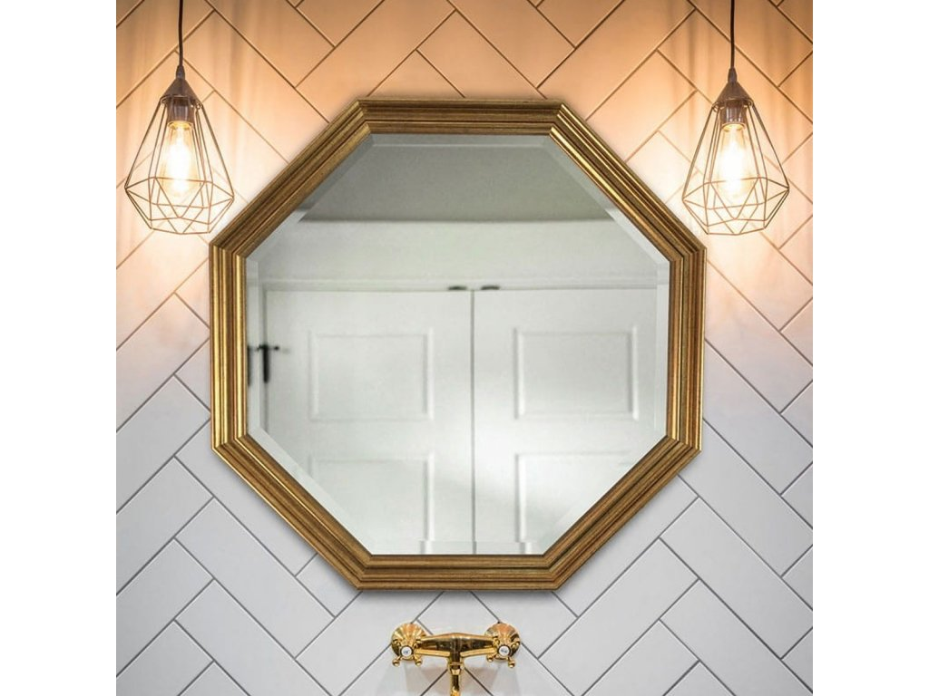 Zrkadlo Fere Octagon - Glamour Design 6