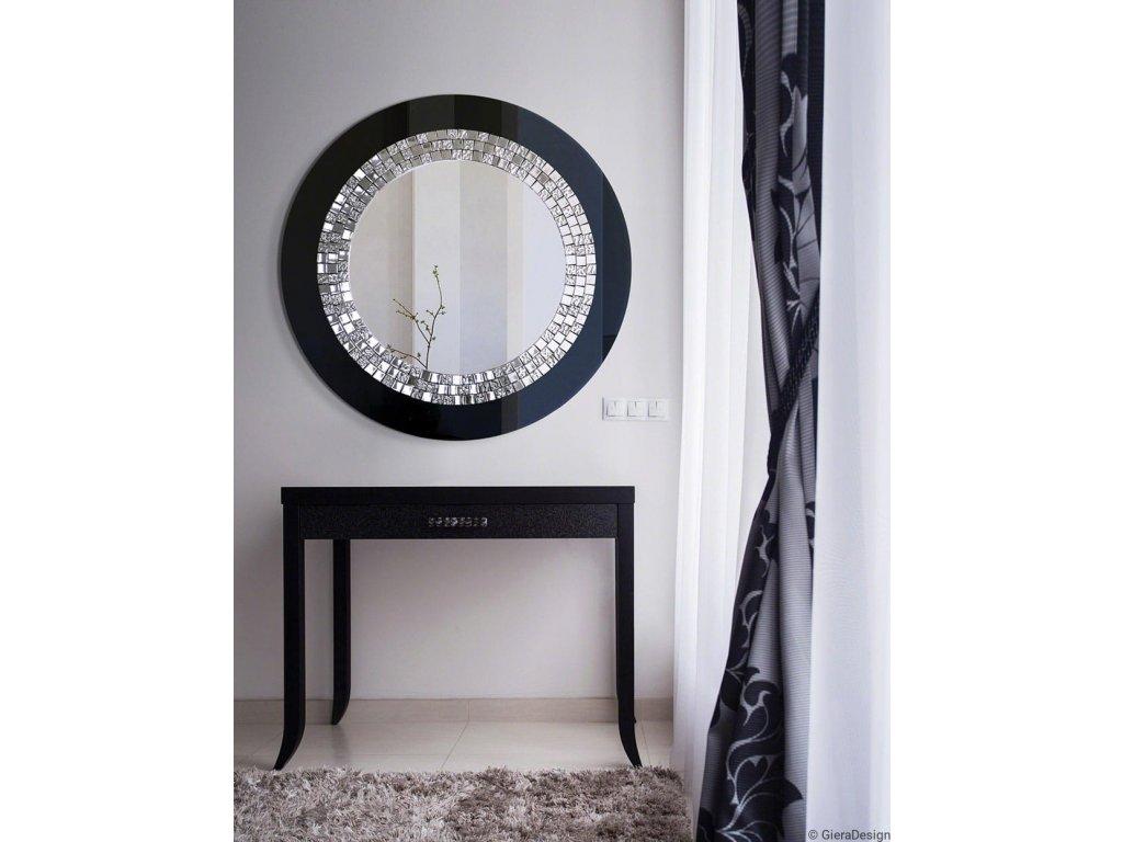 Zrkadlo Glamour black - Glamour Design 1