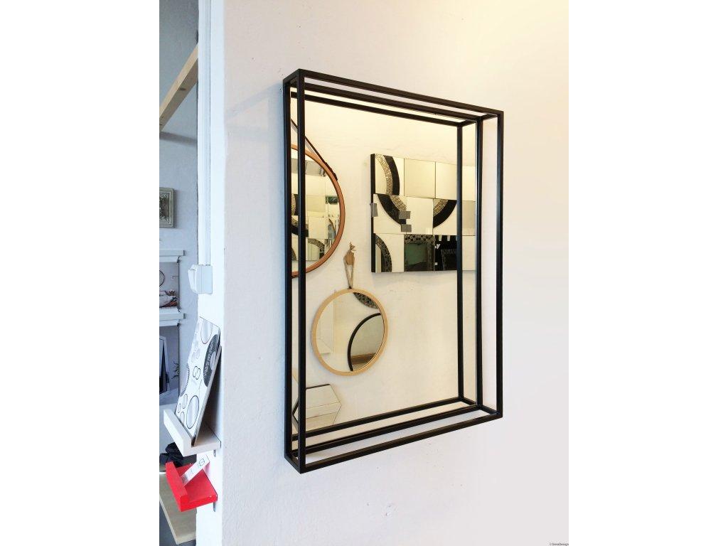 Zrkadlo Grid Simple - Glamour Design 1