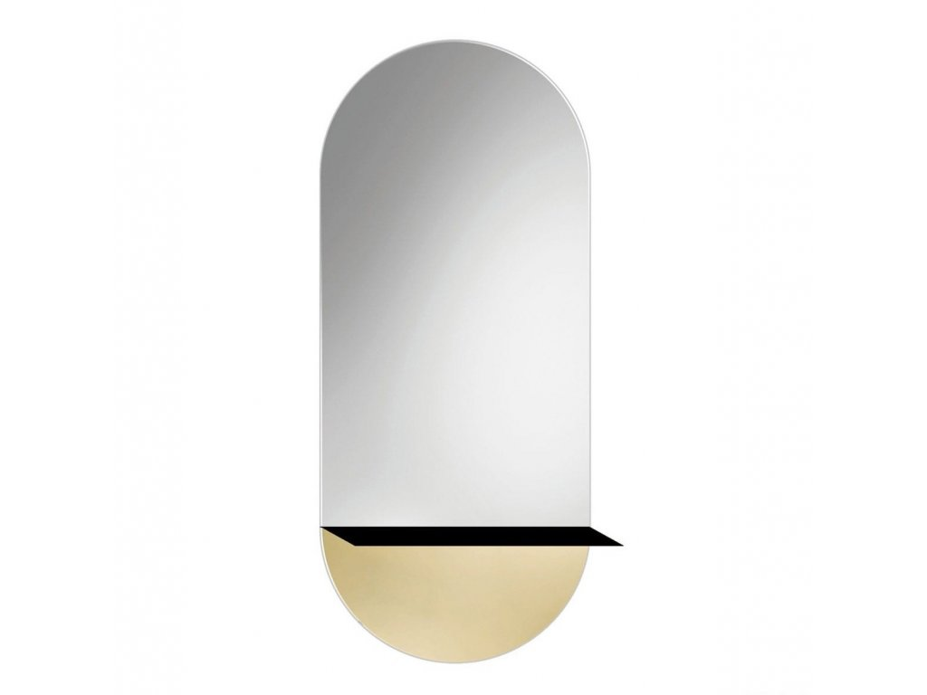 Zrkadlo Novi 2 Gold - Glamour Design 1