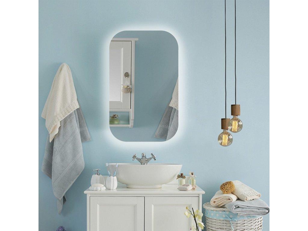 Dizajnové zrkadlo Puro Mirel LED - Glamour Design 1
