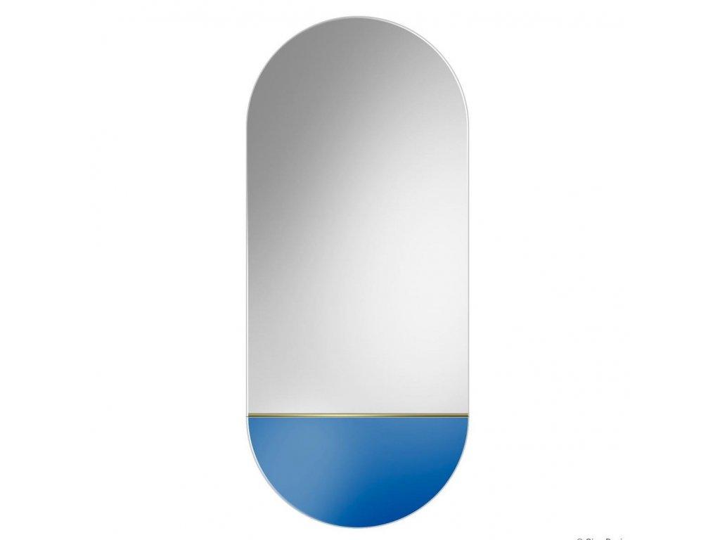 Zrkadlo Novi Blue - Glamour Design 1