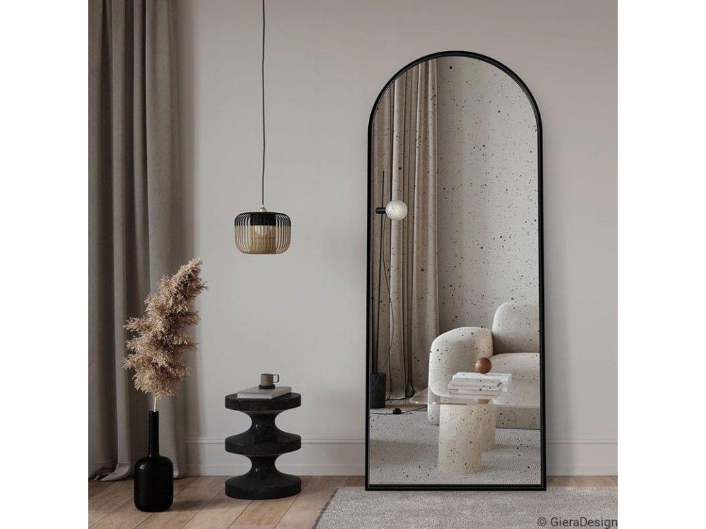 Zrkadlo Portal Vintage black stojace - Glamour Design 1