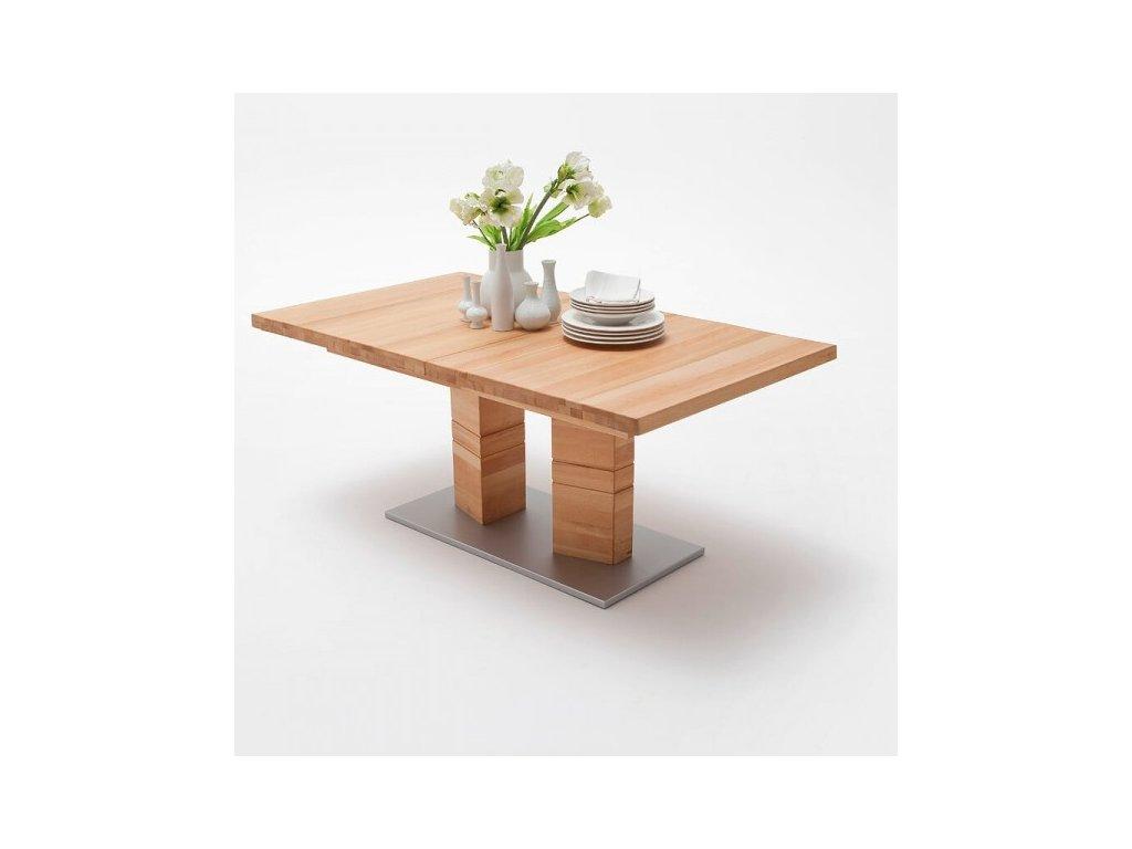 Jedálenský rozkladací stôl Cuneo A buk jadrový