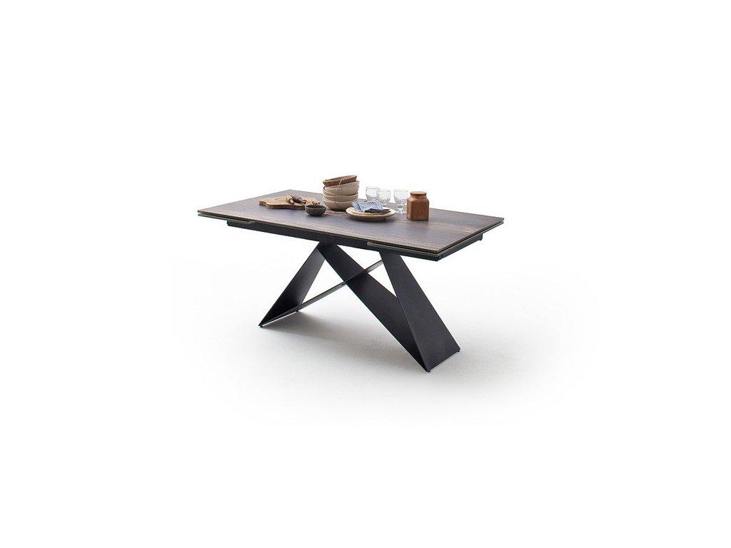 Jedálenský rozkladací stôl Kobe barrique - Glamour Design 1