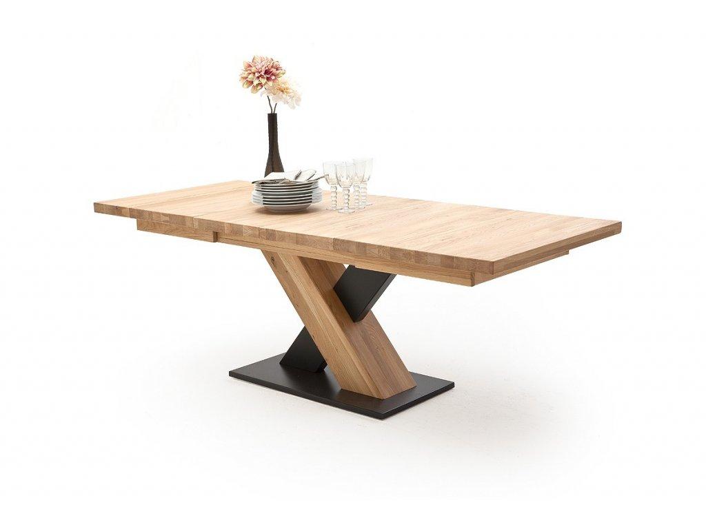Jedálenský rozkladací stôl Mendoza A dub bianco - Glamour Design 1
