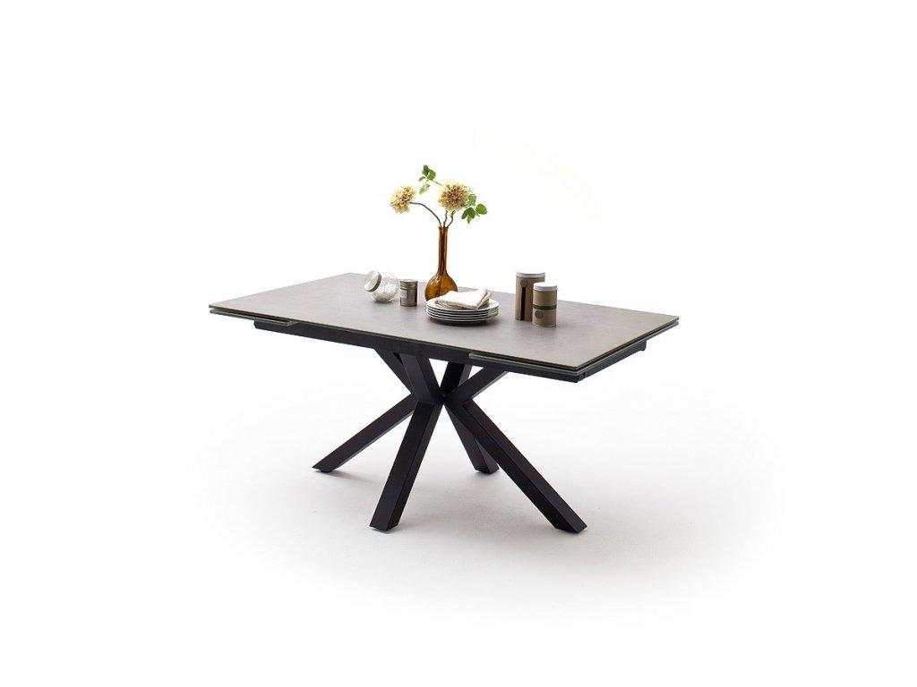 Jedálenský rozkladací stôl Nagano svetlošedý II - Glamour Design 1