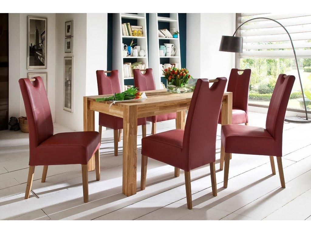 Jedálenský rozkladací stôl Peter dub divoký - Glamour Design 1
