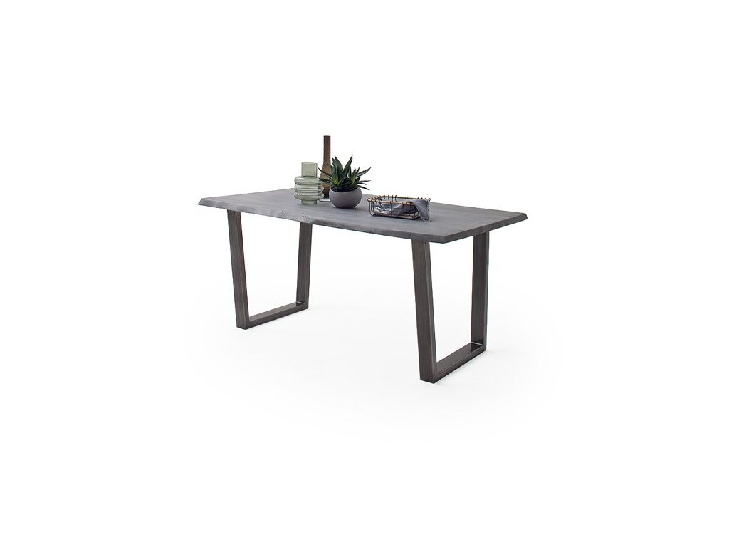 Jedálenský stôl Calabria podnož trapez antik - Glamour Design 1