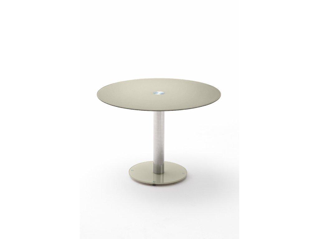 Jedálenský stôl Falko sivohnedý - Glamour Design 1