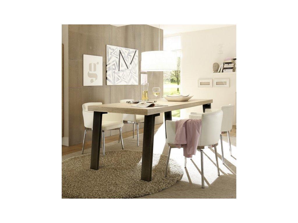 Jedálenský stôl PALMA - podnož antracyt