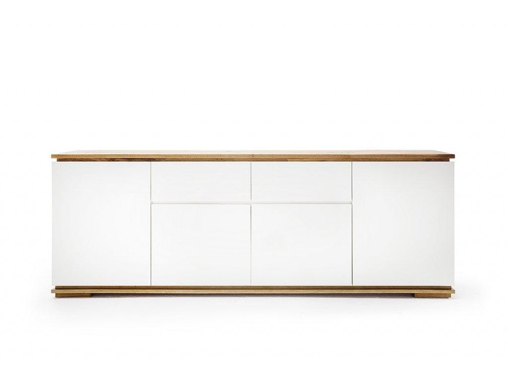 Komoda CHIARO IV biela - Glamour Design 1