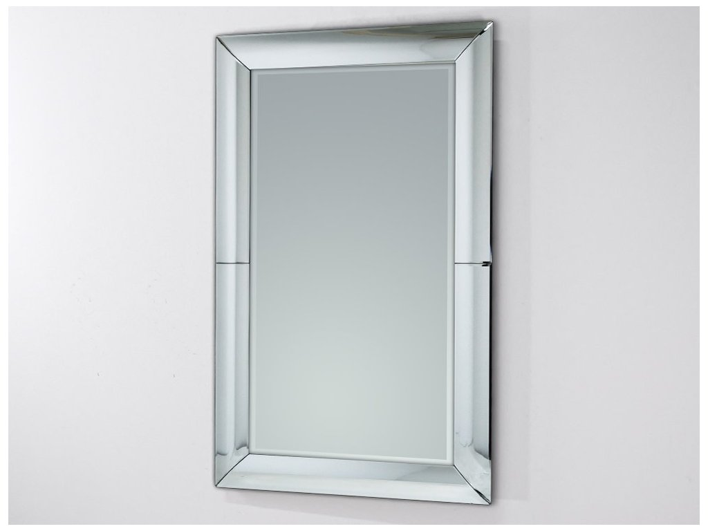 Dizajnové zrkadlo Flessi 80x100cm - Glamour Design 1