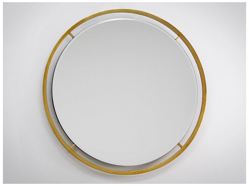 Dizajnové zrkadlo Juene gold - Glamour Design 1
