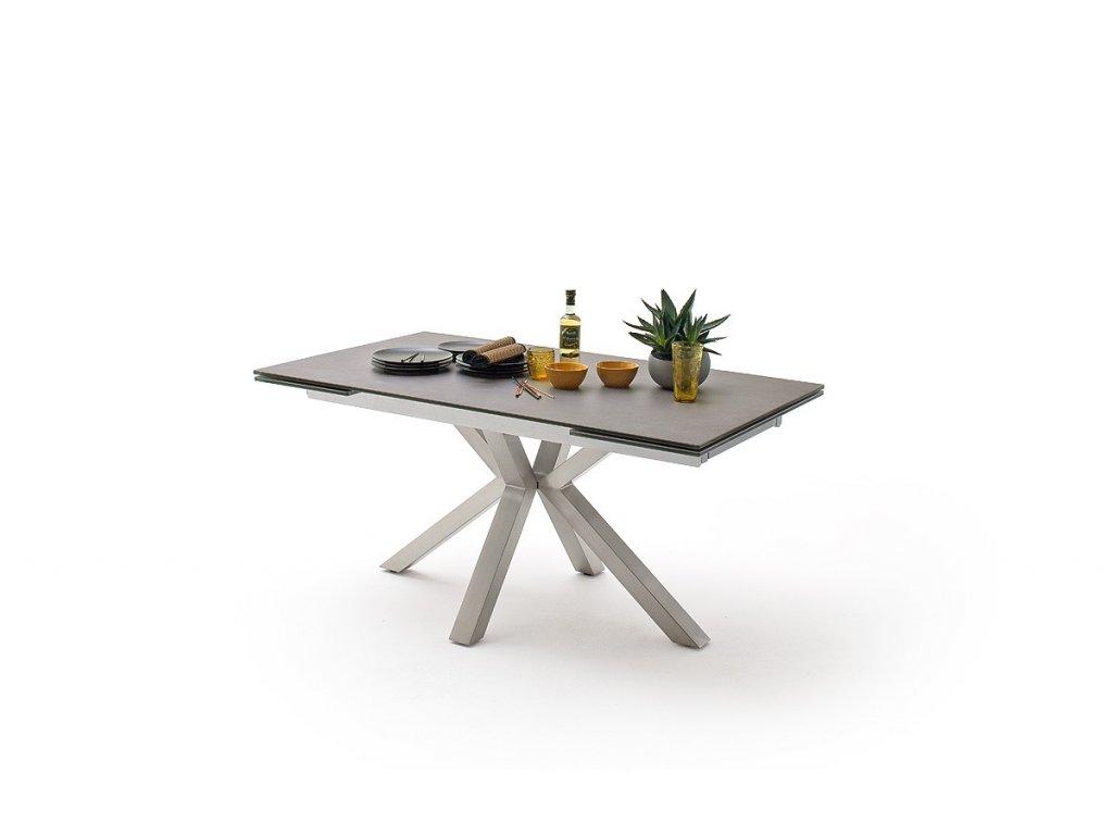 Jedálenský rozkladací stôl Nagano antracit I - Glamour Design 1