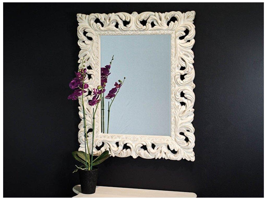 Zrkadlo Antony cream 80x100 cm - Glamour Design 1