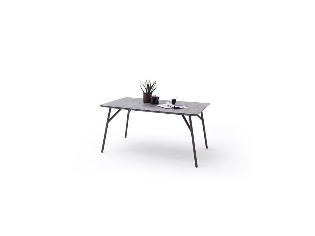 Jedálenský stôl Caracas betón - Glamour Design 1