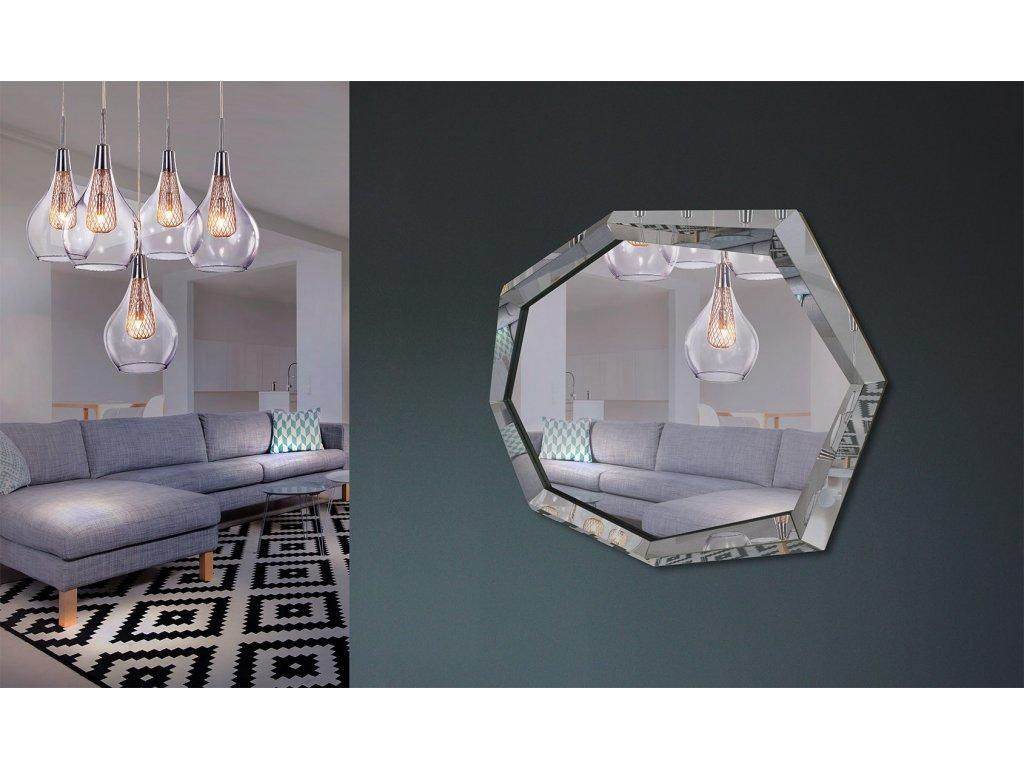 Dizajnové zrkadlo Adelle - Glamour Design 1
