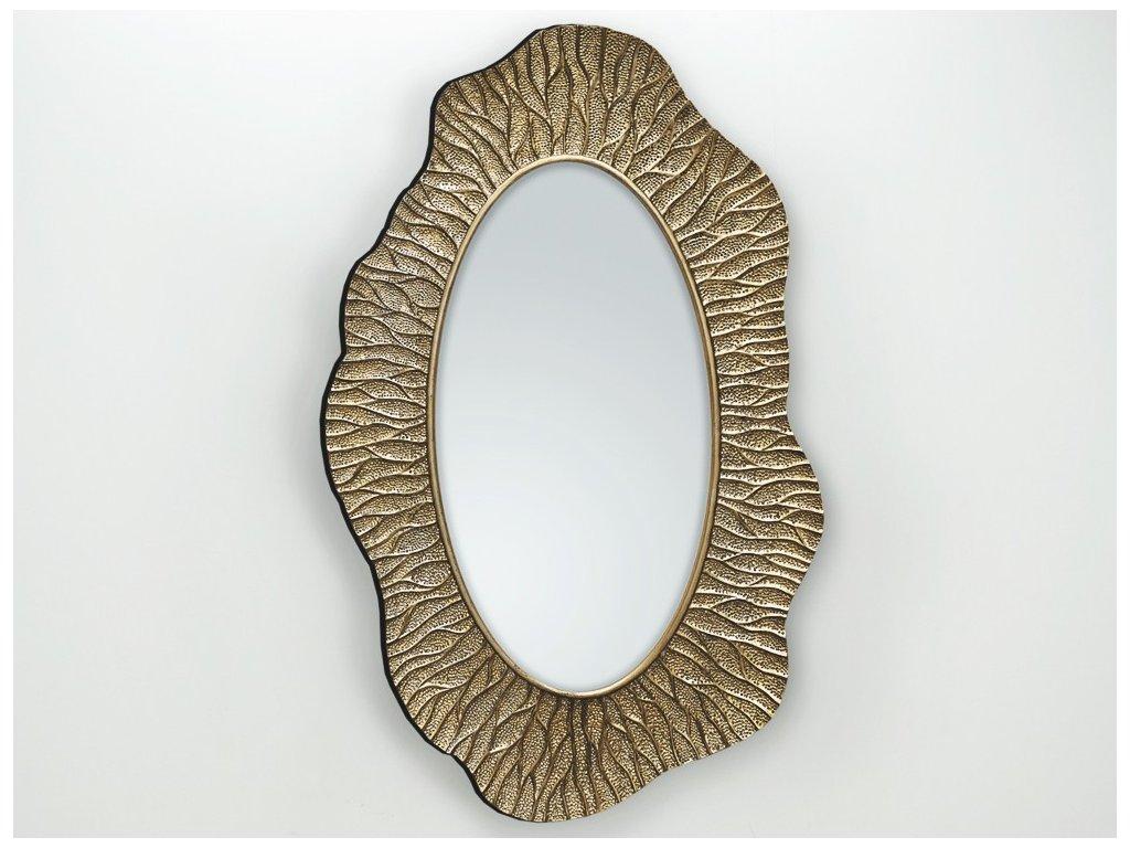 Zrkadlo Ismay champagne 90 x 150 cm - Glamour Design 1