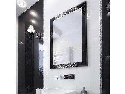 Zrkadlo Attika silver - Glamour Design 4
