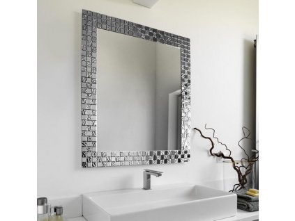 Zrkadlo Aurea SQ Silver (Rozmer 90 x 120 cm)