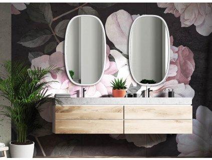 Zrkadlo Dolio white - Glamour Design 1