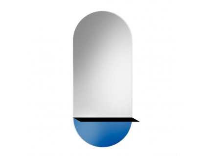 Zrkadlo Novi 2 Blue - Glamour Design 1
