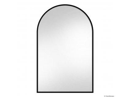 Zrkadlo Portal slim black - Glamour Design 1
