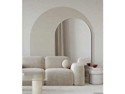 Zrkadlo Portal white stojace - Glamour Design 1
