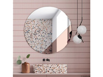 Zrkadlo Sunset cooper - Glamour Design 1