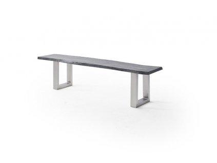 Jedálenská lavica Calabria podnož U oceľ - Glamour Design 1