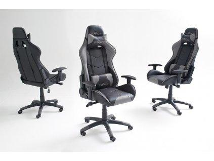 Kancelárska stolička mcRACING 6 - Glamour Design 1