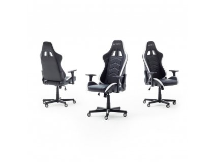 Kancelárska stolička mcRACING LED 1 - Glamour Design 1