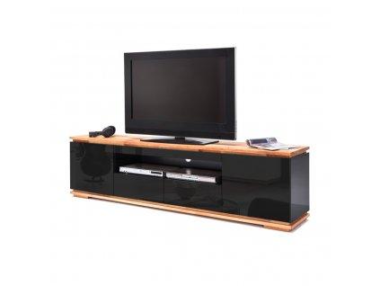 TV stolík CHIARO čierny - Glamour Design 1