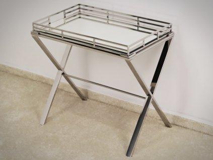 Konzolový stolík Zuri 57 cm - Glamour Design 1