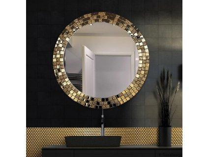 Zrkadlo Aurea gold - Glamour Design 1