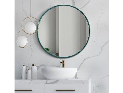Zrkadlo Scandi slim green - Glamour Design 1