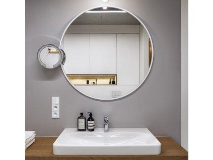 Zrkadlo Scandi slim white - Glamour Design 1