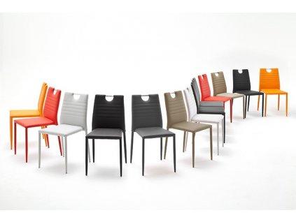 Stolička Meda čierna - Glamour Design 1