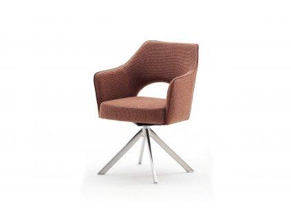 Stolička Tonala II - hrdzavo hnedá - Glamour Design 1