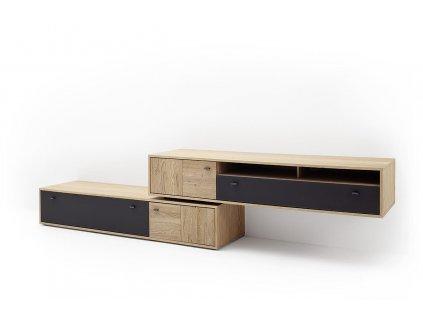 TV stolík VALENCIA II - Glamour Design 1