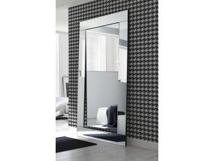 Zrkadlo Gene stojace Opti white - Glamour Design 1